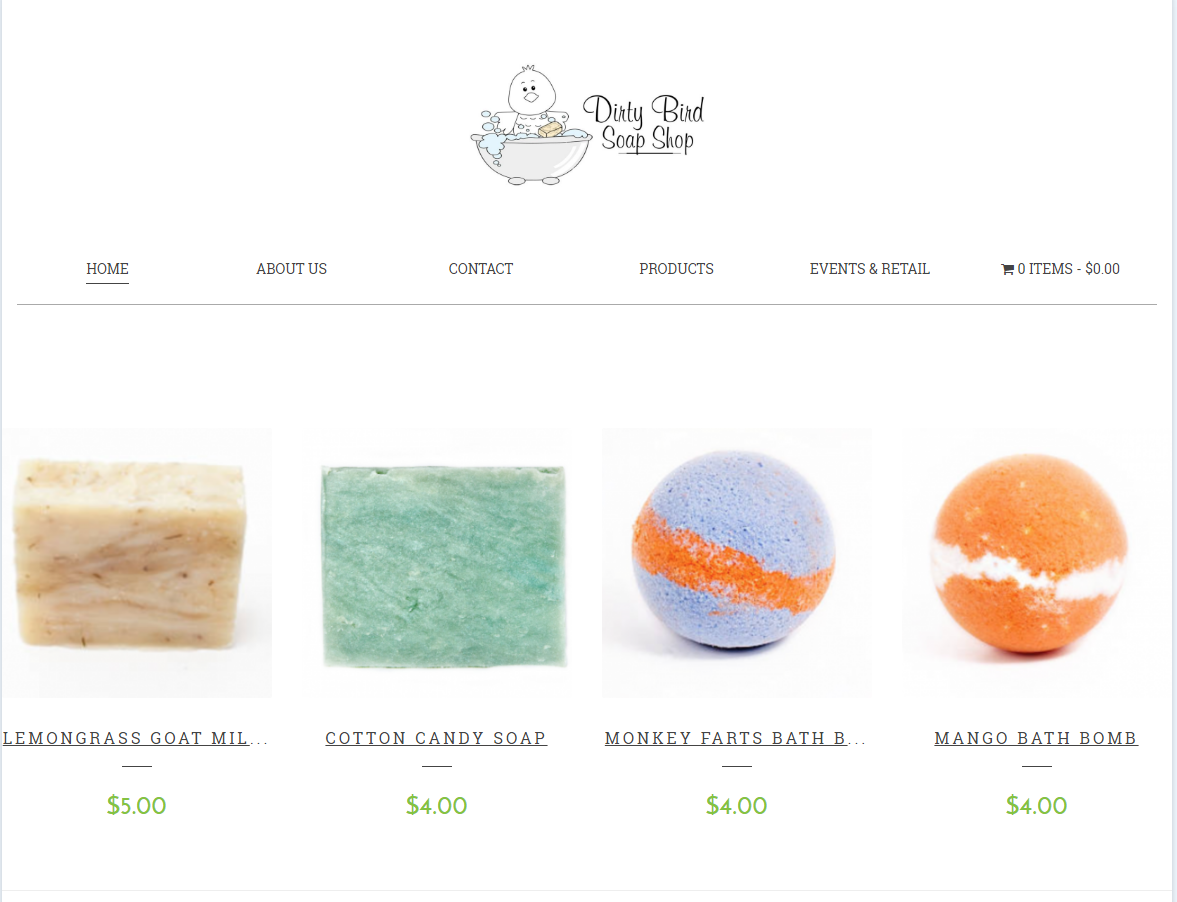Dirty Bird Soap Shop